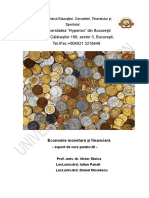 Economie Monetara Si Financiara_An II_III_ID