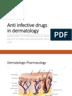 Farmakologi Anti Infeksi Pada Kelainan Kulit Kelas ABCD Dr. Nani 6 Desember 2016