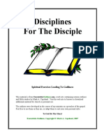 Disciplines For The Disciple - Mark Copeland.pdf