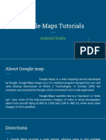 Tutorials about android google map