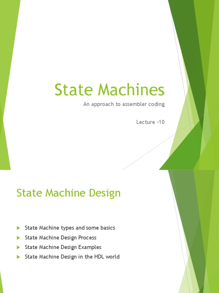 Hw SW State Machine | Input/Output | Computer Program