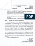 b279d_Removal of Speed Breakers on National Highways_ Circular Dated 29-08-2016
