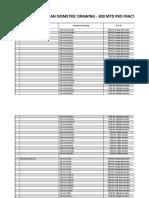 List Kekurangan Isometric Drawing