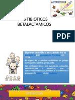 8. Antibióticos betalactámicos
