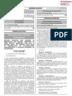 Decreto Supremo que aprueba el Reglamento del Decreto Legislativo N° 1203 Decreto Legislativo que crea el Sistema Único de Trámites (SUT) para la simplificación de procedimientos administrativos y servicios prestados en exclusividad