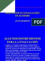 Diagnóstico y Evaluación en Autismo