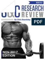 Strength & Conditioning  November 2017 Preview