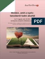 Minden Amit a Nyelvtanulásról Tudni Akartál AngolNelvTanitashu