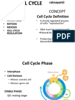 The Cell Cycle 2016
