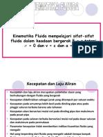 MATERI Kinematika Fluida