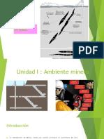 Unidad I Ambiente Minero Ventilacion de Minas. IPChile