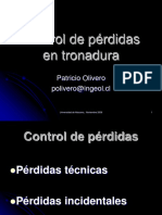 Control de Pérdidas en Tronadura