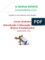 Curso Introdu o Educa o f Sica No Ensino Fundamental 59066