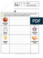 2human body activity pages - brainpop