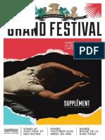 Programme du Grand Festival contre le Racisme et l'Antisémitisme