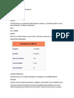 Información Basica Sobre Mexico
