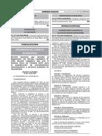 D.S. Nº 031-2018-PCM