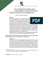 Processos comunicacionais nos Círculos de Mulheres - Patricia (Fox)  Machado