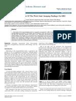 Tuberculous Tenosynovitis of the Wrist Joint Imaging Findings on Mri 2332 0877 1000307