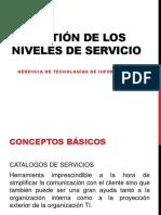 Gestión de Los Niveles de Servicio