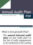 Annual Audit Plan