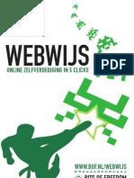 Folder Webwijs Online Zelfverdediging in 5 Clicks