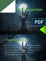 caracteristicas cuentos de misterio y terror