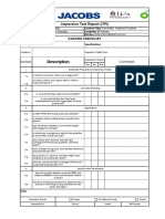 Coating Checklist