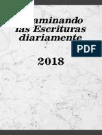 Examined las escrituras 2018