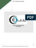 Carta de Apresentação ELID for E TEC