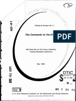 Fire Commands for the M1 Tank