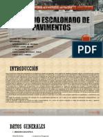Trabajo Escalonado de Pavimentos Universidad Privada de Tacna