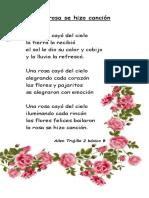 La Rosa Se Hizo Canción