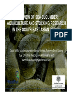 Aquaculture and Stocking Research