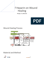 Effect Heparin on Wound Healing