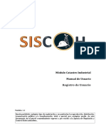 Manual de Usuario Catastro Industrial v1.1 (Solicitante - Registro)