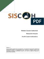 Manual de Usuario Catastro Industrial v1.1 (Comercializadora - Centro Distribución)