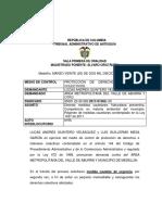 Medida Cautelar Aire Medellín