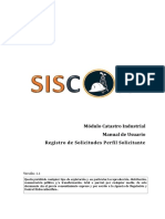 Manual de Usuario Catastro Industrial v1.1 (Solicitante - Solicitudes)