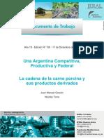 Fund Mediterranea-La Cadena de La Carne Porcina y Sus Derivados