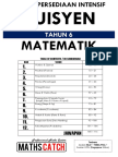 Nota Tuisyen Maths Tahun 6 - Guru