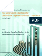 Meei-ling Lin, Chung-tien Chin, Horn-da Lin, Yusuke Honjo, Kok-Kwang Phoon-Proceedings of the International Symposium on New Generation Design Codes for Geotechnical Engineering Practice_ Taipei 2006