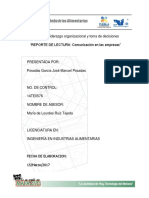 Reporte Comunicacion Empresarial