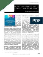 LA INVESTIGACIÓN DOCUMENTAL EN LA ENSEÑANZA DE LAS CIENCIAS SOCIALES - Dra. María Belén Fernández Fuentes
