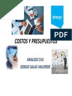 Modulo 2 costos y presupuestos tecsup