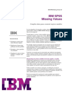 IBM SPSS Missing Values 22