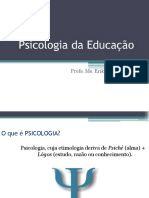 Psicologia Da Educacao e Da Aprendizagem 2018