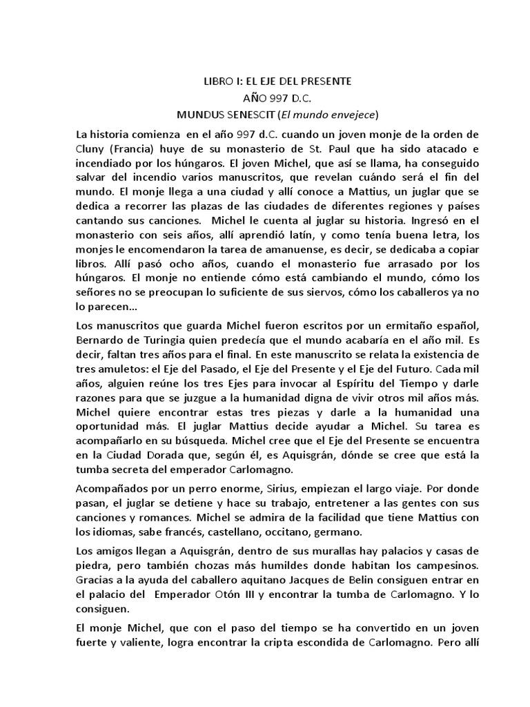 Finis Mundi Docx Carlomagno Monasterio