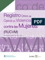 Registro Único de Casos de Violencia contra las Mujeres