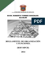 Rof Mpch 2014 Modificado (o.m. 08)